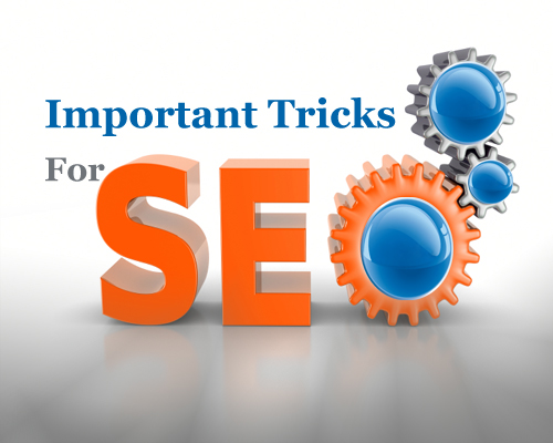 Important Tricks for SEO