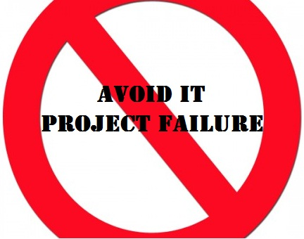 avoiding project failure dissertation Webcast introduces the five immutable principles that will help you increase the probability of project success and shows you how to apply them to a broad range of projects.