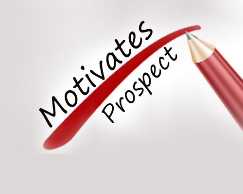 How to motivates a prospect