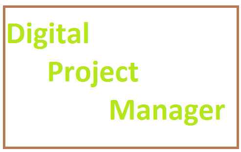 It's depending on the organization, the role that the digital project managers can play can vary extensively.